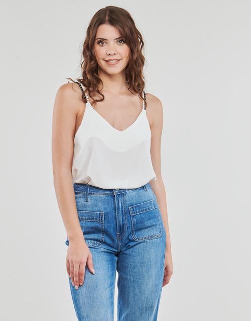 Clothing Women Tops / Blouses Betty London EVOUSA White