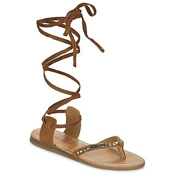 Shoes Women Sandals Les Tropéziennes par M Belarbi GALTANO CAMEL