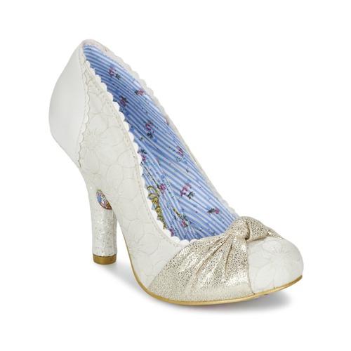 Shoes Women Heels Irregular Choice SMARTIE PANTS White