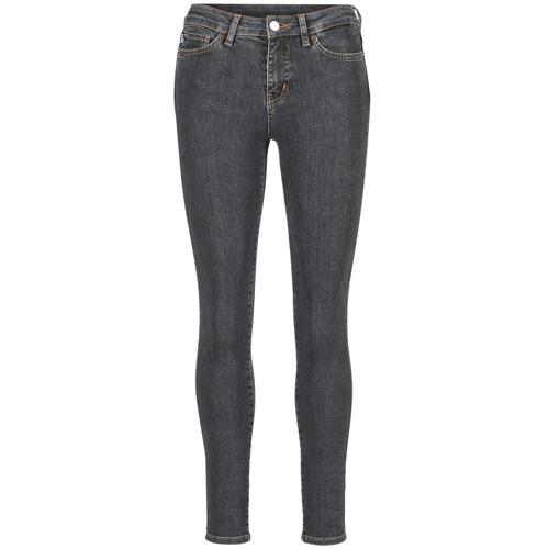 Clothing Women Slim jeans Love Moschino AGAPANTE Grey