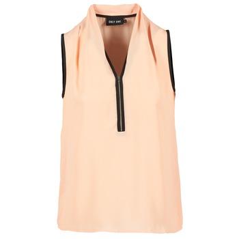 Clothing Women Tops / Blouses Only FIA ZIP Orange / Pastel / Black