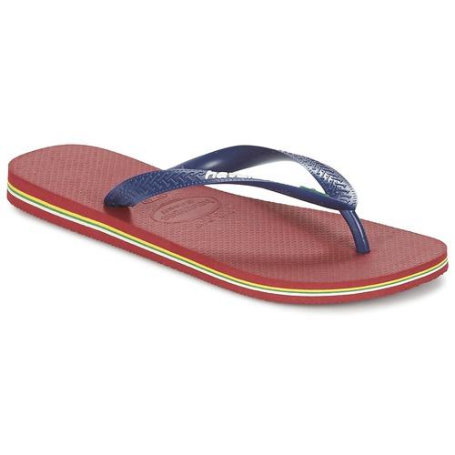 Shoes Flip flops Havaianas BRASIL LOGO Marine / Red