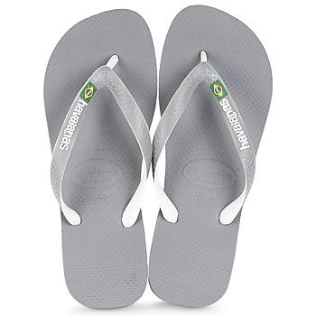 Shoes Flip flops Havaianas BRASIL MIX Grey