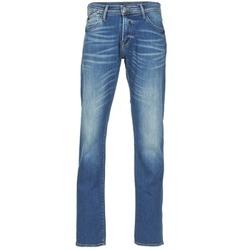 Clothing Men straight jeans Le Temps des Cerises 812 Blue