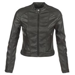 Clothing Women Leather jackets / Imitation leather S.Oliver VERDUNE Black