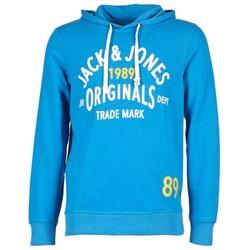 Clothing Men sweatpants Jack & Jones ATHLETIC SWEAT ORIGINALS Blue
