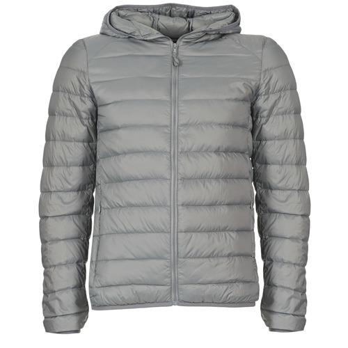 Clothing Men Duffel coats Benetton FOULI Grey