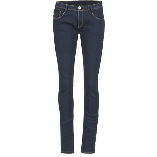 Clothing Women Slim jeans Yurban IETOULETTE Blue / Raw