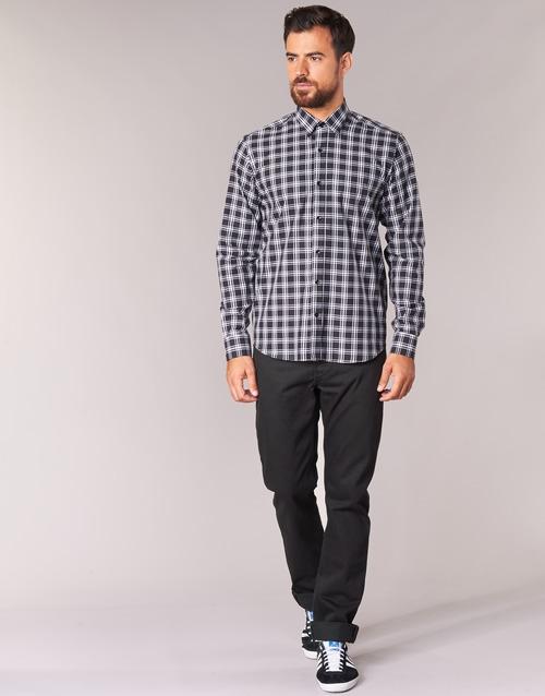 Clothing Men straight jeans Yurban IEDABALO Black