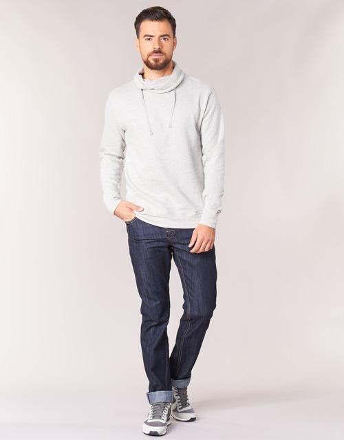 Clothing Men straight jeans Yurban IEDABALO Blue / Raw