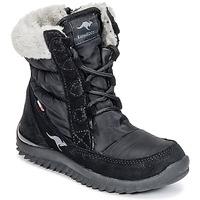 Shoes Girl Snow boots Kangaroos CUPY JUNIOR Black