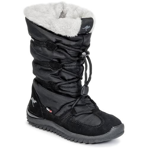 Shoes Women Snow boots Kangaroos PUFFY III JUNIOR Black