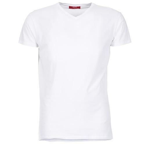 Clothing Men short-sleeved t-shirts BOTD ECALORA White