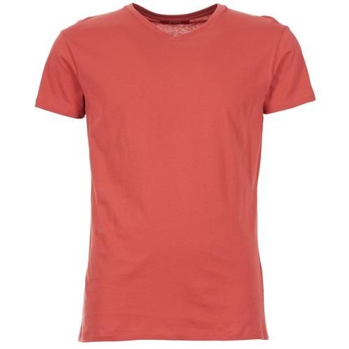 Clothing Men short-sleeved t-shirts BOTD ECALORA Red