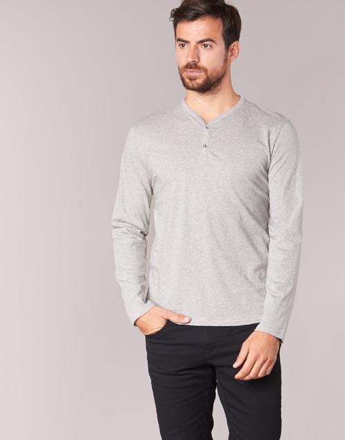 Clothing Men Long sleeved tee-shirts BOTD ETUNAMA Grey