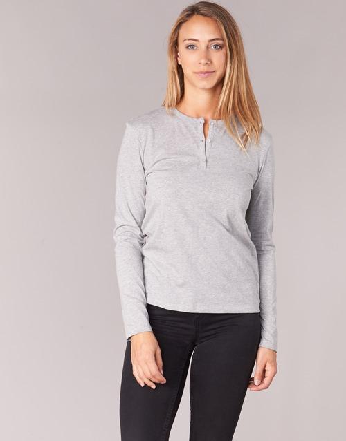 Clothing Women Long sleeved tee-shirts BOTD EBISCOL Grey