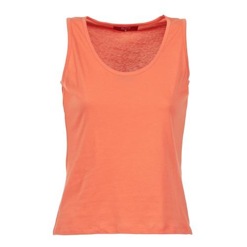 Clothing Women Tops / Sleeveless T-shirts BOTD EDEBALA Orange