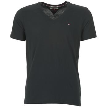 Clothing Men Short-sleeved t-shirts Tommy Jeans MALATO Black