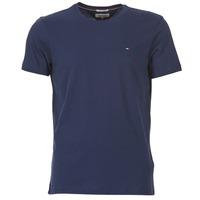 Clothing Men short-sleeved t-shirts Tommy Jeans OFLEKI Marine