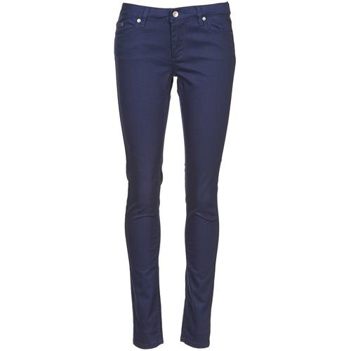 Clothing Women 5-pocket trousers Element STICKER Blue
