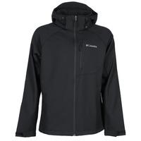 Clothing Men Jackets Columbia CASCADE RIDGE II SOFTSHELL Black