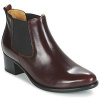 Shoes Women Ankle boots Gabor AURICH BORDEAUX