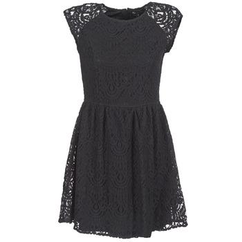 Clothing Women Short Dresses Best Mountain VISCAL Black