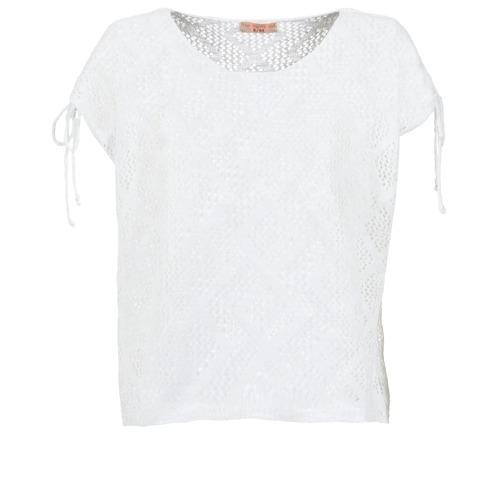 Clothing Women Tops / Blouses Moony Mood EDDA Ecru