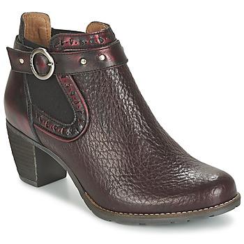 Shoes Women Shoe boots Dkode CLOA BORDEAUX