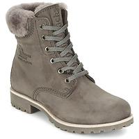 Shoes Women Mid boots Panama Jack PANAMA Grey