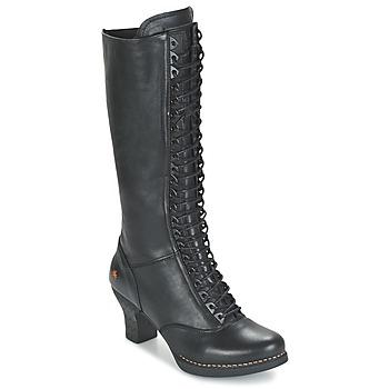 Shoes Women High boots Art HARLEM Black