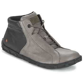 Shoes Men Mid boots Art MELBOURNE Grey / Black