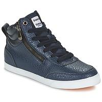 Shoes Women Hi top trainers Superdry NANO ZIP HI TOP SNEAKER Blue