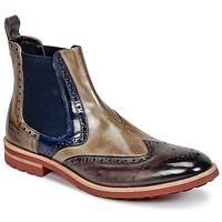Shoes Men Mid boots Melvin & Hamilton EDDY 13 Brown / Blue