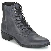 Shoes Women Mid boots Geox MENDI ST B Black
