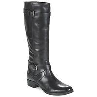 Shoes Women High boots Geox MENDI ST D Black