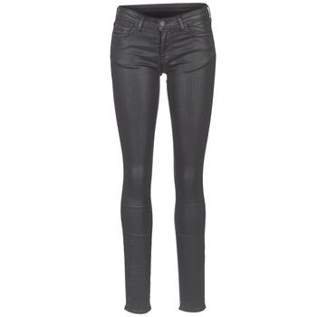 Clothing Women slim jeans Cimarron ROSIE DENM WAX Black