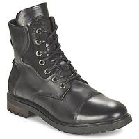 Shoes Men Mid boots Bunker RESCUE Black