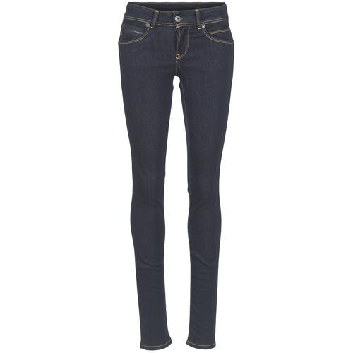 Clothing Women Slim jeans Pepe jeans NEW BROOKE M15 / Blue / Raw