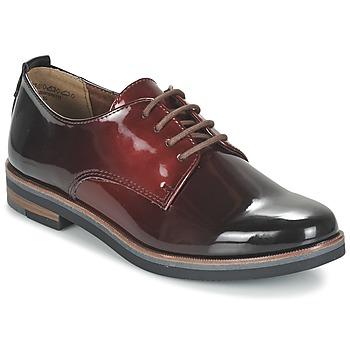 Shoes Women Derby Shoes Marco Tozzi TREFLO Red / Dark