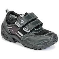 Shoes Boy Low top trainers Primigi FAUSTO GORE-TEX Black
