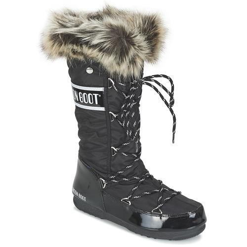 Shoes Women Snow boots Moon Boot MOON BOOT W.E. MONACO Black