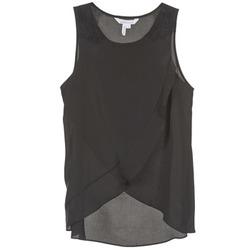 Clothing Women Tops / Sleeveless T-shirts BCBGeneration 616725 Black