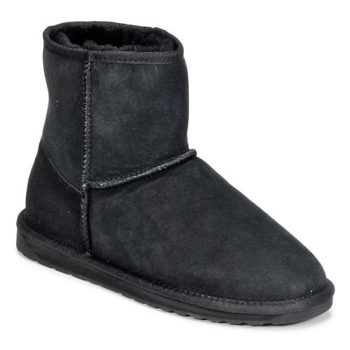 Shoes Women Mid boots EMU STINGER MINI Black