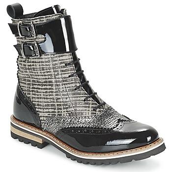 Shoes Women Mid boots Regard RIFADO Black / PATENT