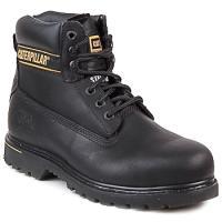 Shoes Men Mid boots Caterpillar HOLTON SB Black