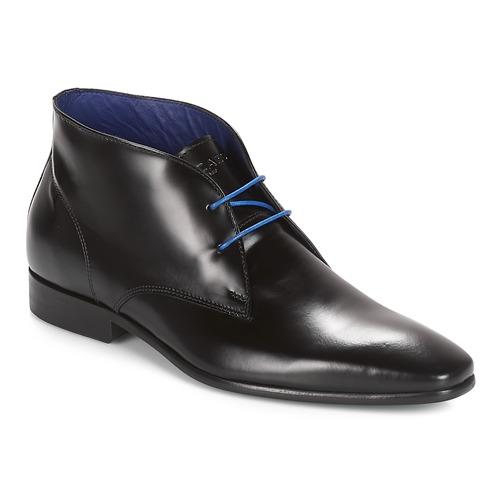 Shoes Men Mid boots Azzaro JAVOY Black