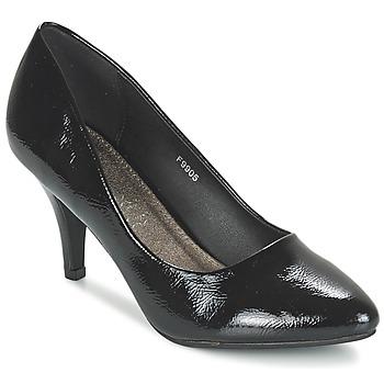 Shoes Women Heels Spot on MIENE Black