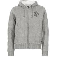 Clothing Men Jackets / Cardigans Schott DUNLIN Grey