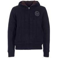 Clothing Men Jackets / Cardigans Schott DUNLIN Black